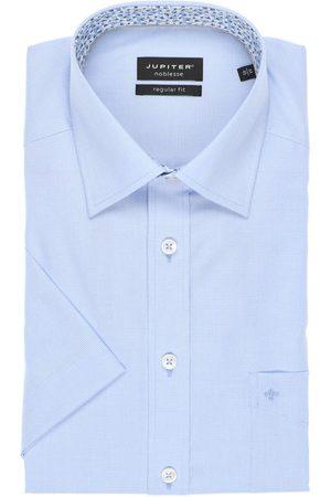 Jupiter Regular Fit Overhemd Korte mouw , Gestructureerd