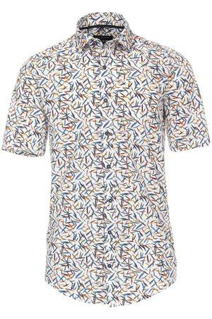 Casa Moda Casual Casual Fit Overhemd Korte mouw veelkleurig, Motief