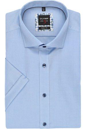 Olymp Heren Korte mouwen - Level Five Body Fit Overhemd Korte mouw , Faux-uni