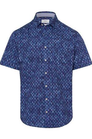 Brax Modern Fit Overhemd Korte mouw , Motief