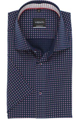 Venti Heren Korte mouwen - Modern Fit Overhemd Korte mouw / , Motief
