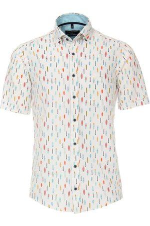 Casa Moda Heren Korte mouwen - Casual Casual Fit Overhemd Korte mouw / , Motief