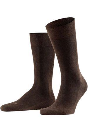 Falke Sensitive London Sokken donkerbruin, Effen