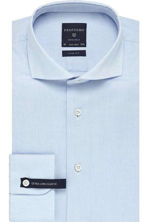 Profuomo Originale Slim Fit Overhemd lichtblauw