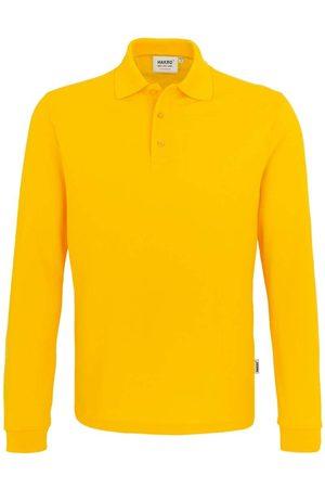 HAKRO Heren Lange mouw - 815 Comfort Fit Poloshirt lange mouw , Effen