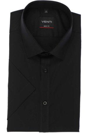 Venti Heren Korte mouwen - Body Fit Overhemd Korte mouw , Effen