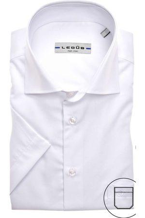Ledub Heren Korte mouwen - Modern Fit Overhemd Korte mouw , Effen