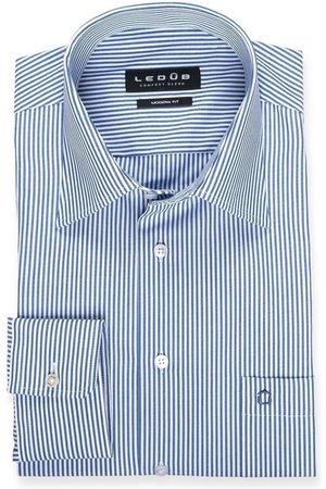 Ledub Heren Lange mouwen - Modern Fit Overhemd , Gestreept