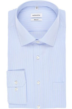 Seidensticker Heren Overhemden - Regular Fit Overhemd / , Gestreept