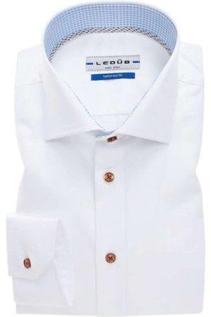 Ledub Heren Lange mouwen - Tailored Fit Overhemd , Effen
