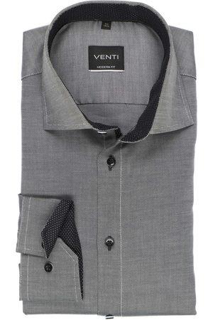 Venti Heren Lange mouwen - Modern Fit Overhemd / , Gestructureerd