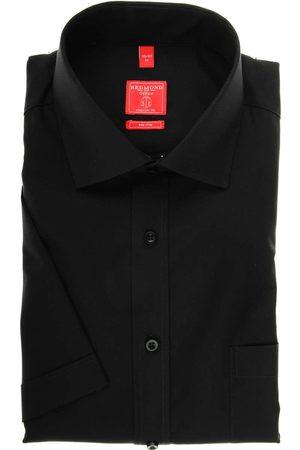 Redmond Heren Korte mouwen - Regular Fit Overhemd Korte mouw , Effen