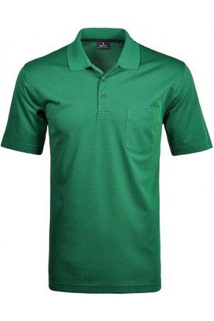 Ragman Softknit Regular Fit Polo shirt Korte mouw , Gestreept