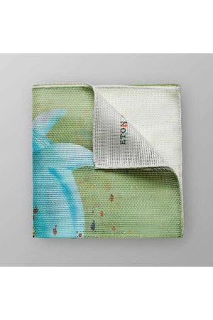 Eton Heren Pochetten - Pochette /turquoise, Motief