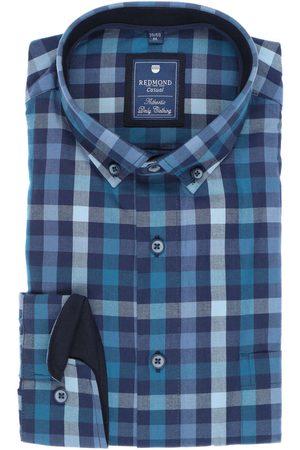 Redmond Heren Casual - Casual Regular Fit Overhemd , Ruit