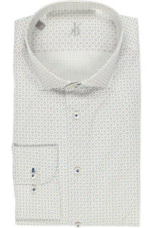 Jacques Britt Heren Zakelijk - Smart Business Perfect Fit Overhemd / , Motief