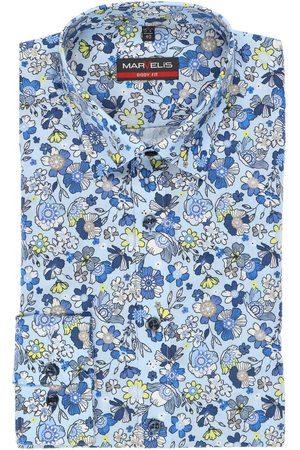 Marvelis Heren Lange mouwen - Body Fit Overhemd veelkleurig, Bloemen