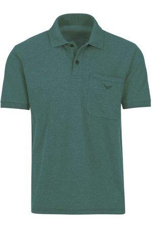 Trigema Comfort Fit Polo shirt Korte mouw , Melange