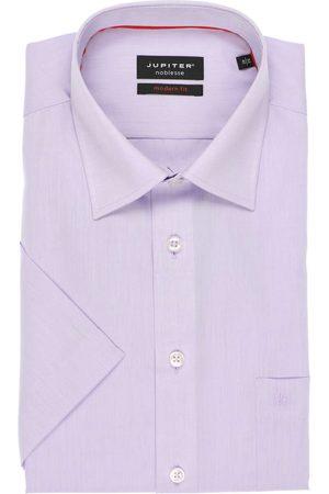 Jupiter Heren Korte mouwen - Modern Fit Overhemd Korte mouw , Effen