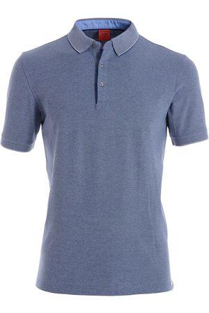 Olymp Level Five Body Fit Polo shirt nachtblauw, Effen