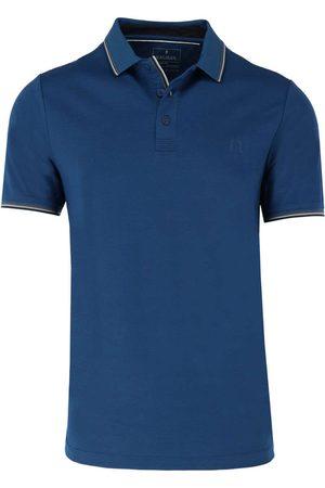 Ragman Heren Korte mouw - Regular Fit Polo shirt Korte mouw koninklijk, Effen