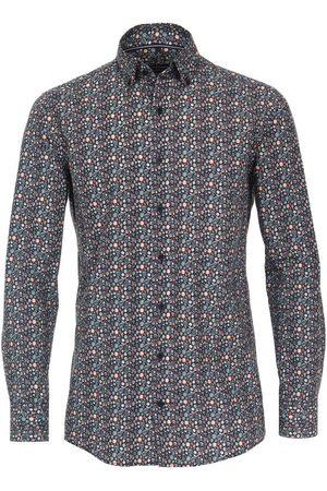Casa Moda Heren Casual - Casual Comfort Fit Overhemd veelkleurig, Motief