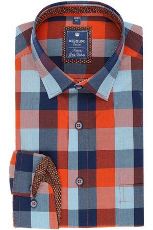 Redmond Heren Casual - Casual Regular Fit Overhemd / , Ruit