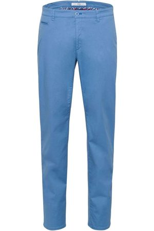 Brax Hi-FLEX Slim Fit Chino ijsblauw, Effen