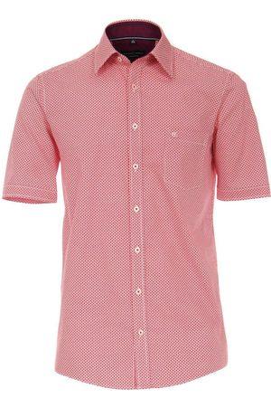 Casa Moda Heren Korte mouwen - Comfort Fit Overhemd Korte mouw , Motief