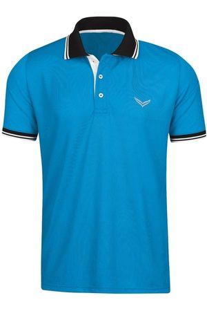Trigema Heren Korte mouw - COOLMAX Comfort Fit Polo shirt Korte mouw aqua, Effen