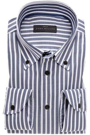 john miller Heren Lange mouwen - Tailored Fit Overhemd , Gestreept