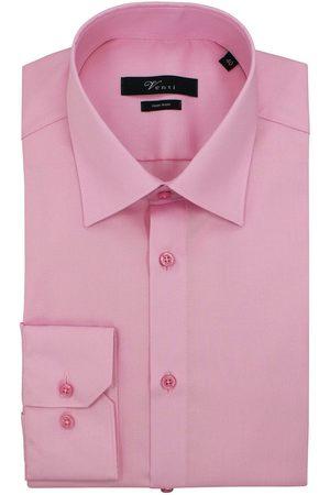 Venti Heren Lange mouwen - Modern Fit Overhemd , Effen