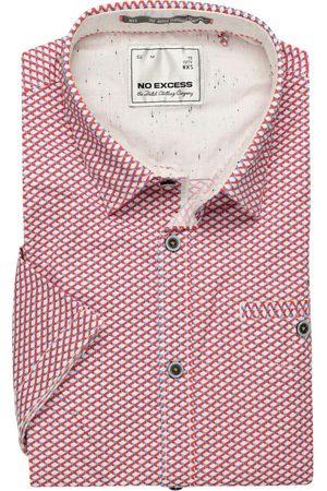No Excess Heren Korte mouwen - Modern Fit Overhemd Korte mouw / / , Motief