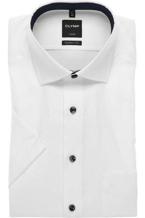 Olymp Heren Korte mouwen - Luxor Modern Fit Overhemd Korte mouw , Effen