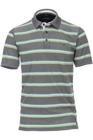 Casa Moda Heren Korte mouw - Casual Casual Fit Polo shirt Korte mouw / , Gestreept