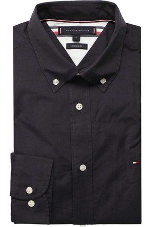 Tommy Hilfiger Heren Casual - Casual Regular Fit Overhemd olijf/navy, Motief