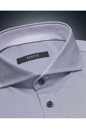 DESOTO Luxury Line Slim Fit Jersey shirt , Gestreept
