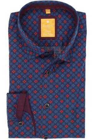 Redmond Casual Modern Fit Overhemd marine/ , Motief