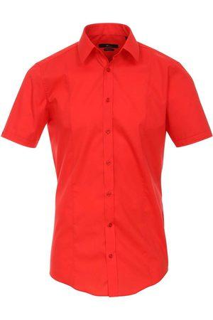 Venti Body Fit Overhemd Korte mouw , Faux-uni