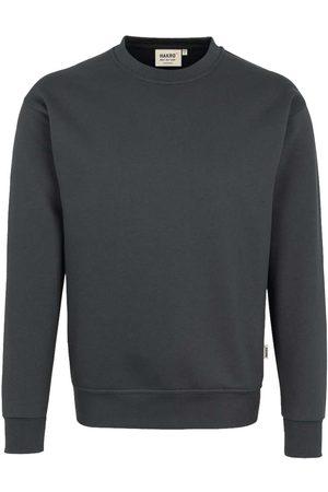 HAKRO 471 Comfort Fit Sweatshirt ronde hals antraciet, Effen
