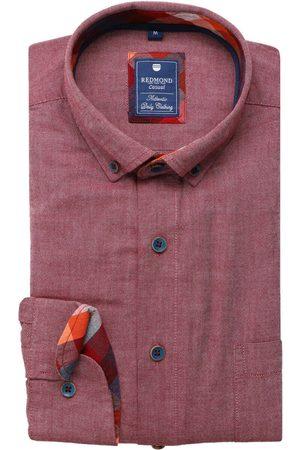 Redmond Casual Regular Fit Overhemd , Effen