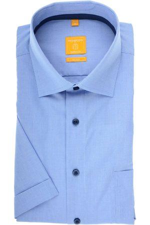 Redmond Modern Fit Overhemd Korte mouw , Faux-uni