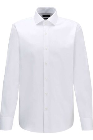HUGO BOSS Regular Fit Overhemd , Effen
