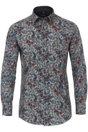 Casa Moda Casual Comfort Fit Overhemd veelkleurig, Motief