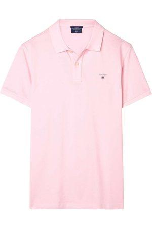 GANT Rugger Regular Fit Polo shirt Korte mouw , Effen