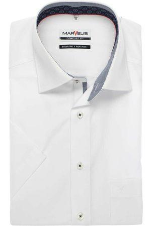 Marvelis Comfort Fit Overhemd Korte mouw , Effen