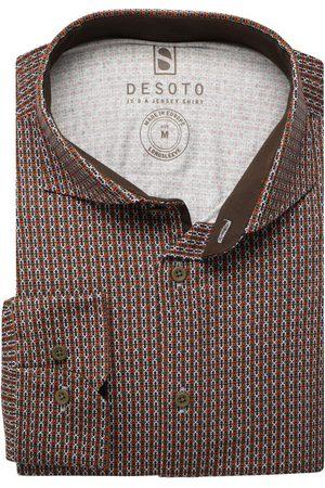 DESOTO Slim Fit Jersey shirt , Motief