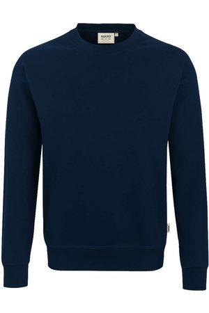 HAKRO 475 Comfort Fit Sweatshirt ronde hals nachtblauw, Effen
