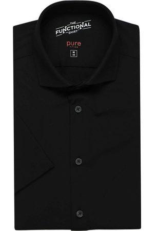 Pure Functional Slim Fit Overhemd Korte mouw , Effen