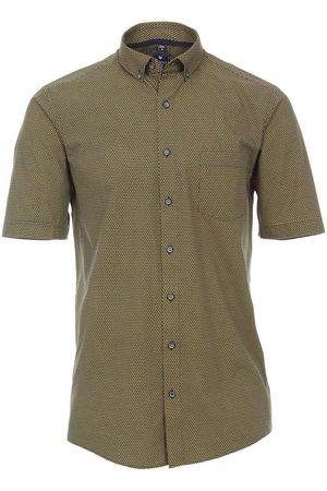 Redmond Casual Regular Fit Overhemd Korte mouw / , Motief